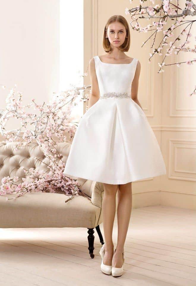 Vestidos de dia en blanco