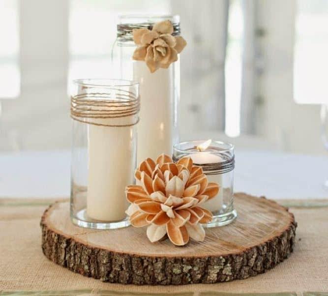 Como hacer un centro de mesa para boda perfect trendy - Como hacer centros de mesa de boda ...